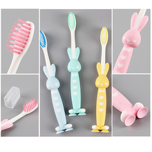 4pcs Baby Soft-bristled Hygienic Toothbrush for Children Teeth Cartoon Training Toothbrushes Baby Dental Care Tooth Brush