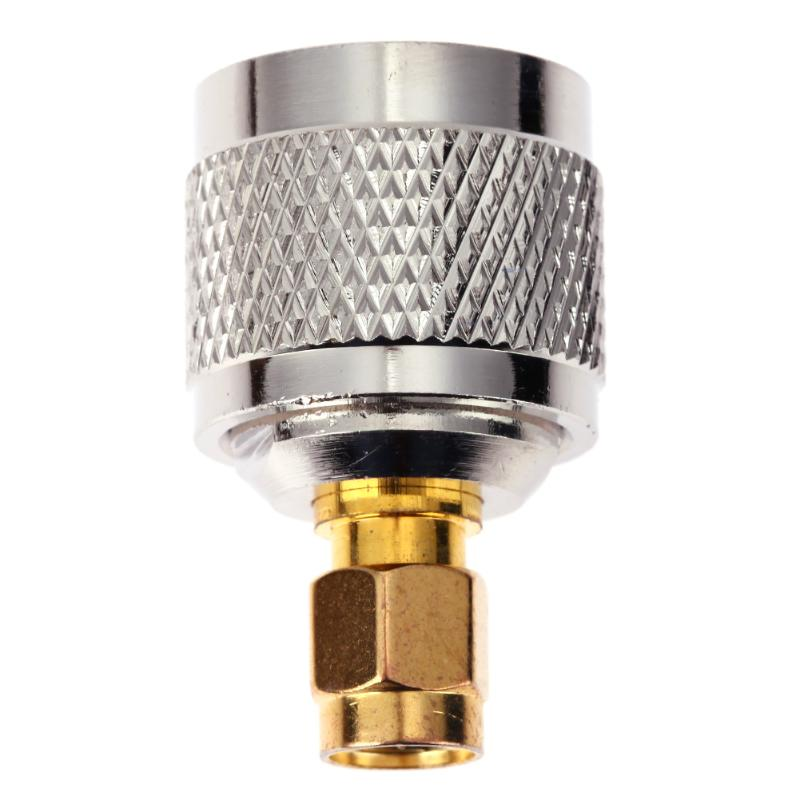 RF Coaxial Coax N to SMA Connector N Male to SMA Male Plug And N-K Female to UHF-K Female SO239 Adapter 1pc adapter n plug male nickel plating to sma female gold plating jack rf connector straight