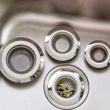 7 см/9 см/11 см ситечко для кухонной раковины фильтр для слива отверстия ловушка из нержавеющей стали для ловли волос пробка для ванной раковины Слив отходов экран