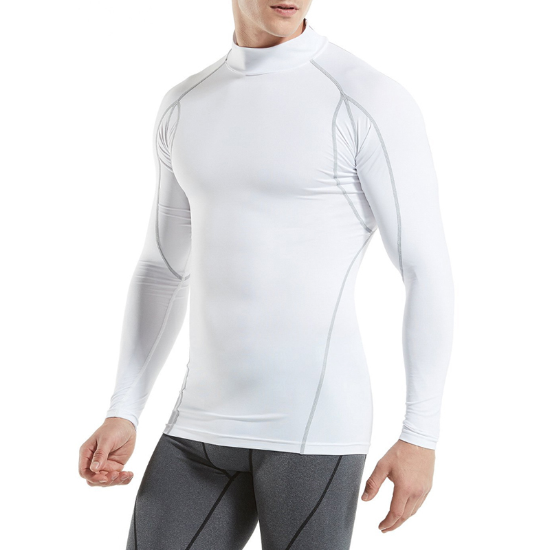 KalvonFu Mens Winter Thermal Underwear Male Warm Plus Size Thermal Tights Compression Undershirt Riding Tops