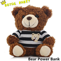 2016 Toy Bear Power Bank 5800mAh Plush Powerbank Energy Battery Backup Mobile Android Phone Charger Universal For Apple Sam
