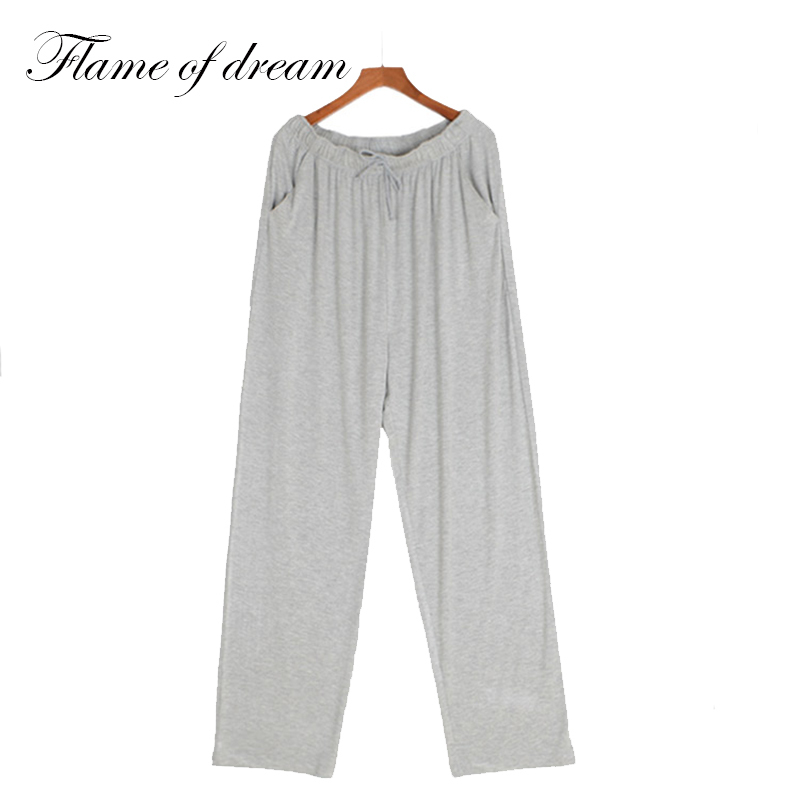 Modal Material  Men Sleep Lounge Pants Sleep Pants Pijama Hombre Pajamas Pants Men's Lounge Pants 348