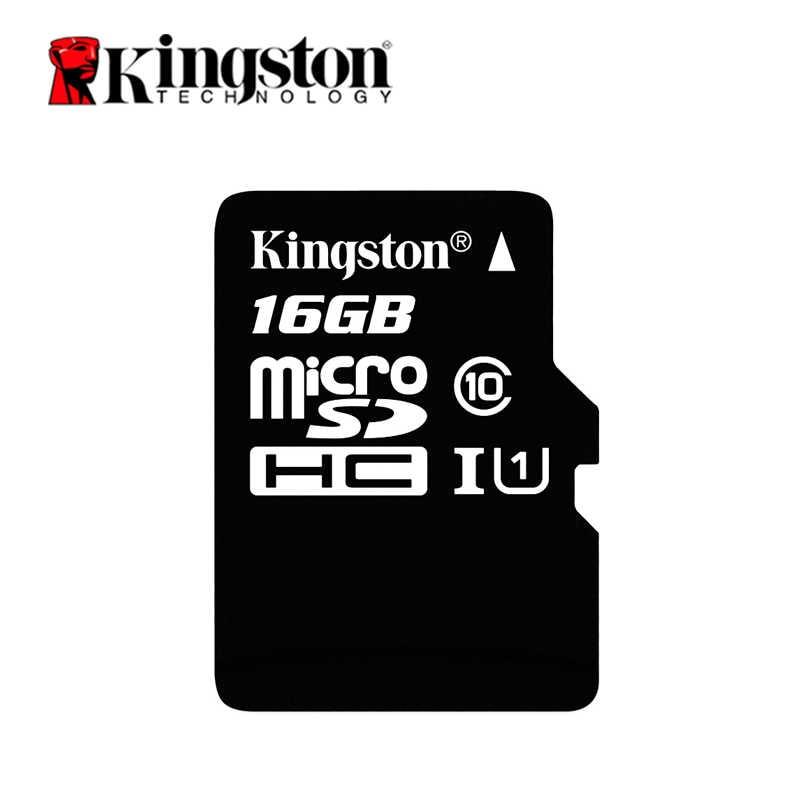 Оригинальный Kingston карта Micro SD 16 GB MicroSD карты памяти 128 ГБ 32 ГБ, 64 ГБ Class10 TF карты MicroSDHC MicroSDXC UHS-1 4G 8 GB Class4