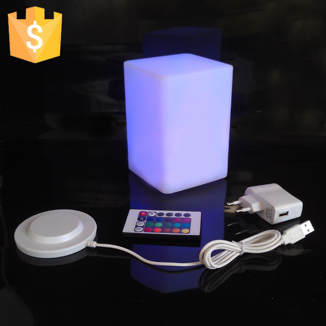 D10*H15CM LED Table Lamp Plastic Decoration Crafts lumineux table light Free Shipping 20pcs/lot