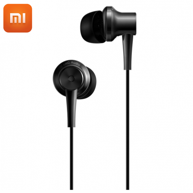 9e28f10ae4b Newest Original Xiaomi Noise Cancelling Earphones Usb Type-C In-Ear Headset  With Mic For Xiaomi Mi 6 5 5s 5sPlus MIX Note2