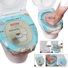 1 Uds émbolo de inodoro de súper presión Principio de presión Simple y barato pluma de inodoro operación de papel de aluminio transparente cepillo de baño