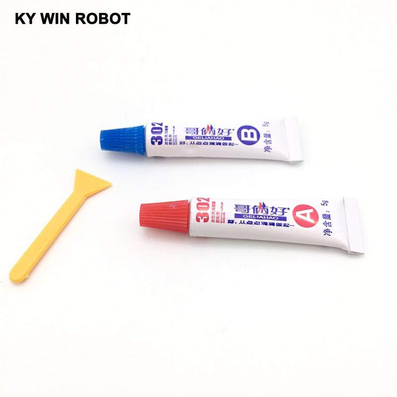 10 g all-purpose adhesive (AB plastic) 302 glue AB glue For Two brothers