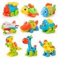 DIY разборка в сборе  игрушки для детей  динозавры/Локомотивы  Ранние Обучающие блоки  игрушки с винтовой гайкой