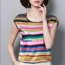 2018 Womens Tops and Blouses Short Sleeve Chiffon Blouse Summer Ladies Print Shirts Casual Clothing Plus Size Blusa Feminina