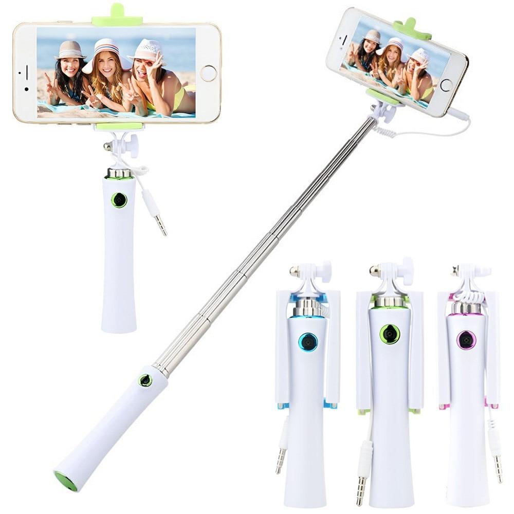 2017 Free Shipping Selfie Stick Monopod tripod Handheld Self Pole Tripod Monopod Stick For Smartphone Selfie