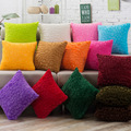 Home Supplies Super Soft Comfortable Short Plush Square Sofa Cushion Cover Throw Pillow Case Decorbox for Sofa Car