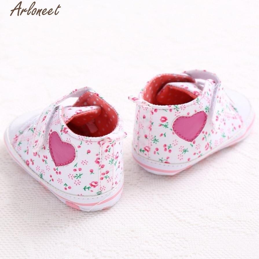 ARLONEET Girl Canvas Shoe Baby Boys Shoes Sneaker Anti-slip Soft Sole Toddler &