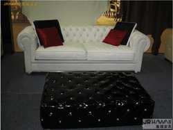 Гостиная диван 3 сиденья Честерфилд диван из натуральной коровьей кожи секционные диваны неоклассические muebles де Сала moveis para casa