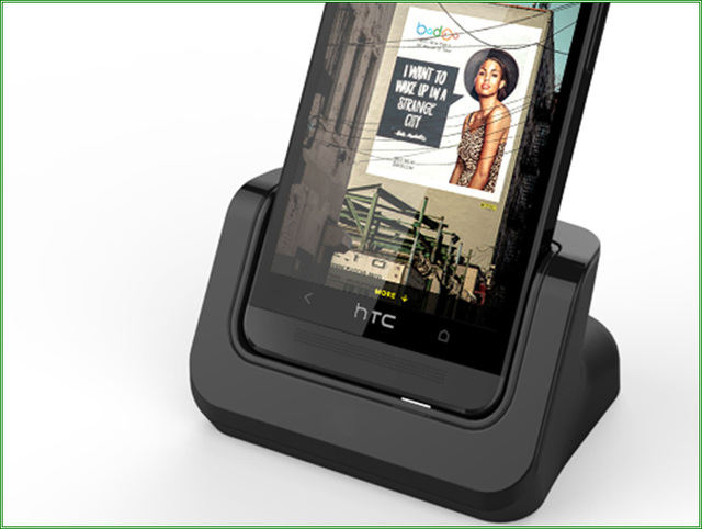 Dock Fast Charge For HTC ONE M8 E8 Charger Data Sync Charging Dock Station with Free Micro USB Cable