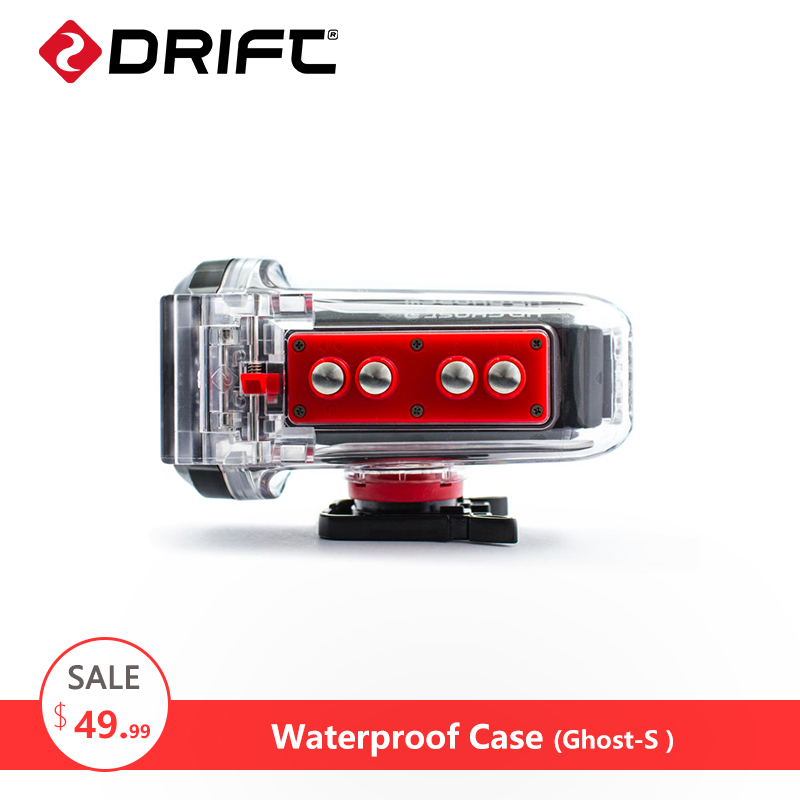 100% Original DRIFT Waterproof Housings Case for Ghost-s Action Sport Camera Accessories Motorcycle Bike Bicycle Accessories