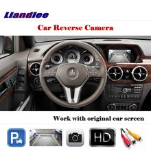 Liandlee For Mercedes Benz GLK280 GLK300 GLK350 / Auto Back Up Camera Reverse Parking Work with Car Factory Screen