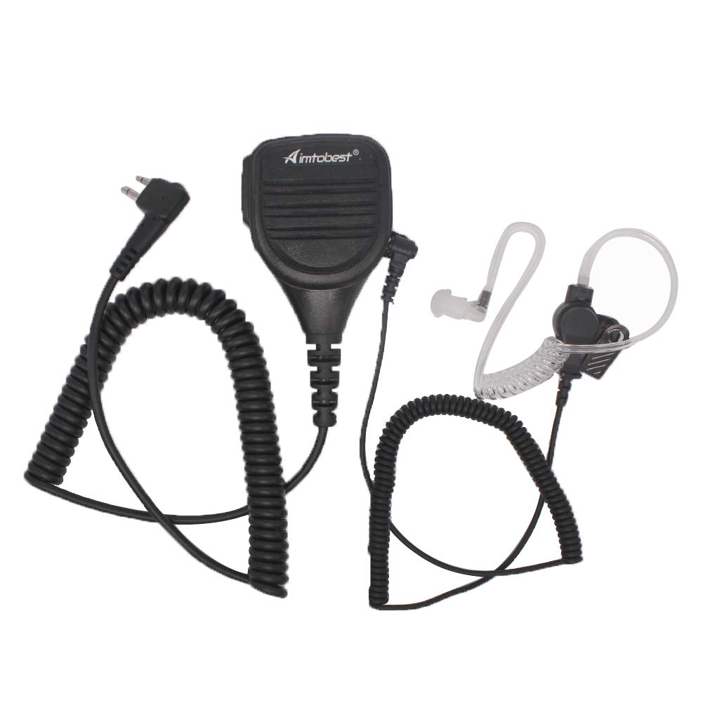 PMMN4013 Speaker Microphone With Earpiece For Motorola Radio DP1400 EP450 CP200 CP140 CP040 MP300 BPR40 XTN446 XTK446 EP350 P145