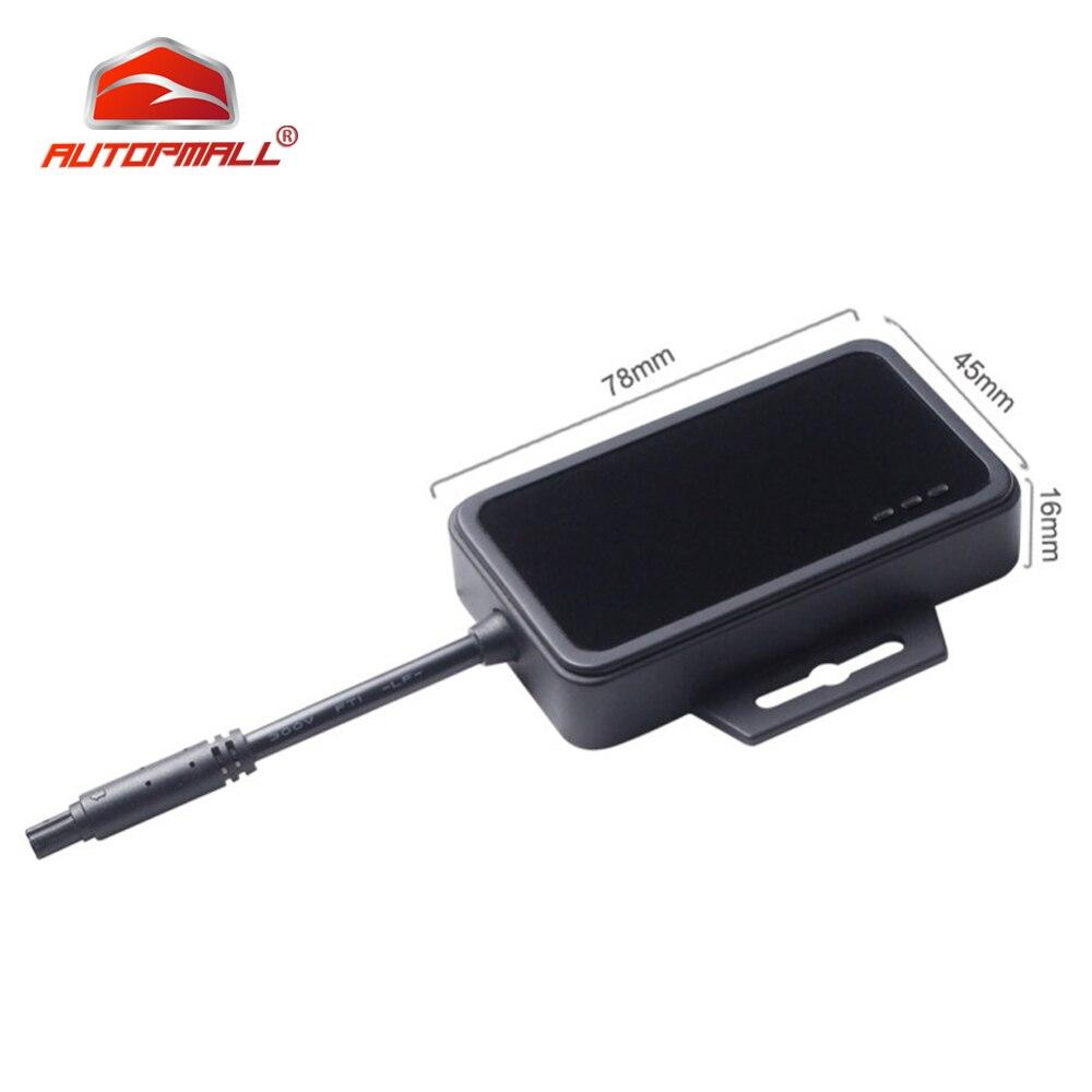 Traqueur de véhicule étanche GPS moto Concox GT08 9-90V traqueur de véhicule GSM GPS localisateur voiture coupé alarme de choc pétrolier kilométrage APP Web