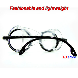 Image 4 - 12235 protective glasses Windproof dust proof Shockproof safety goggles Collapsible Avant garde fashion Cycling goggles