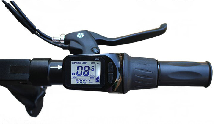 886 display and throttle
