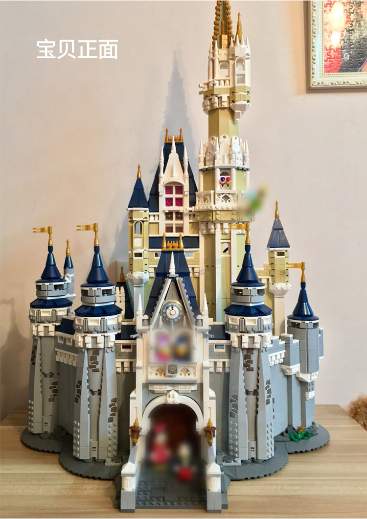 Lepin 16008 4160pcs Cinderella Princess Castle City Model Building Blocks set Bricks For Children Funny Birthday Gift 71040 lepin city town city square building blocks sets bricks kids model kids toys for children marvel compatible legoe