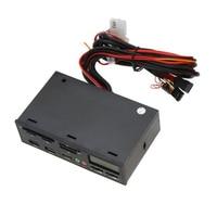 COTS 5 25 USB 3 0 E SATA All In 1 PC Media Dashboard Multi Function