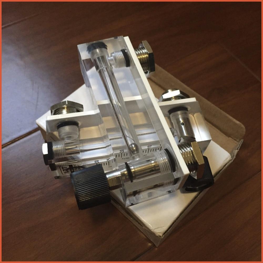 LZT-6T 5-50L/min Square Panel Type Gas Flowmeter Air Flow Meter rotameter LZT6T Tools Flow MeasuringLZT-6T 5-50L/min Square Panel Type Gas Flowmeter Air Flow Meter rotameter LZT6T Tools Flow Measuring