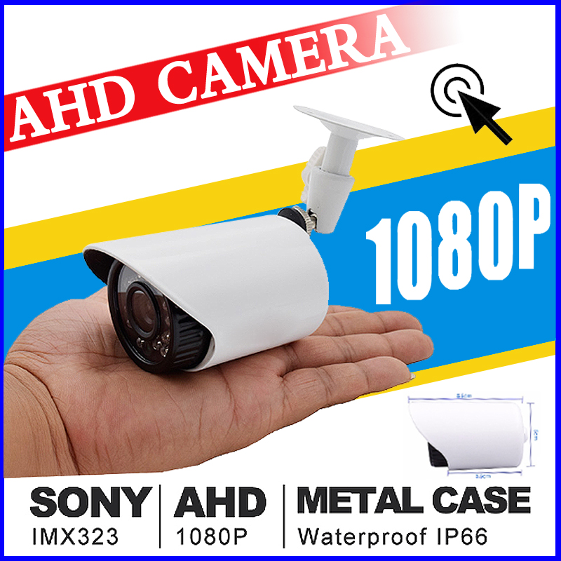 AHD1080P 720P 960P Mini Metal Security Surveillance HD CCTV Camera IR CUT infrared Night Vision Waterproof IP66 Color vidicon new 2mp hd 1080p ahd security camera cctv white metal mini bullet video surveillance waterproof ir night vision vandal proof