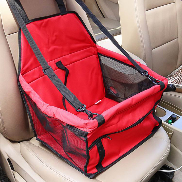 CAWAYI KENNEL PVC Pet Car Seat Bag Carriers Waterproof Folding Hammock Car Mat Seat Cover Dog Carry Storage Bag for Travel D1224 4