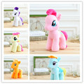 1pc 18cm lovely little horse Plush toys poni doll toys kidz Children Toys birthday gift christmas gifts free shipping