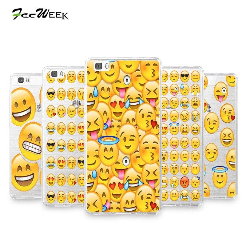 carcasa huawei p8 lite emojis