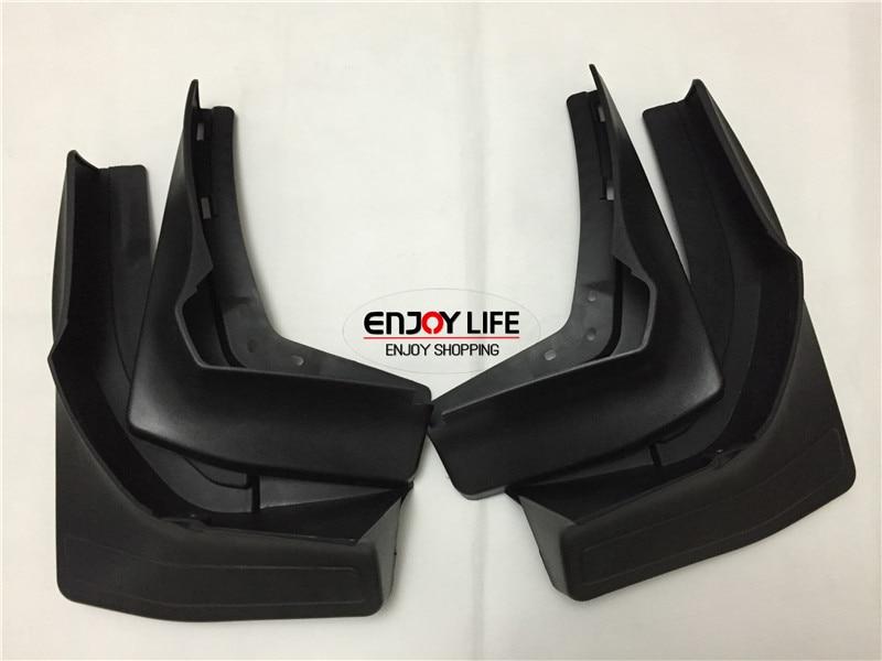 ФОТО Black Front+Rear Mudguard Mud Flaps Splash Guard Fender For Mercedes GL Class Benz X166 2012-2015 GL350 GL450 GL500 GL550
