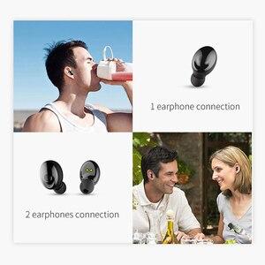 Image 5 - Auricular Bluetooth 5,0 de OUSU TWS, auriculares inalámbricos, auricular manos libres para iphone xiaomi, Cargador USB Original