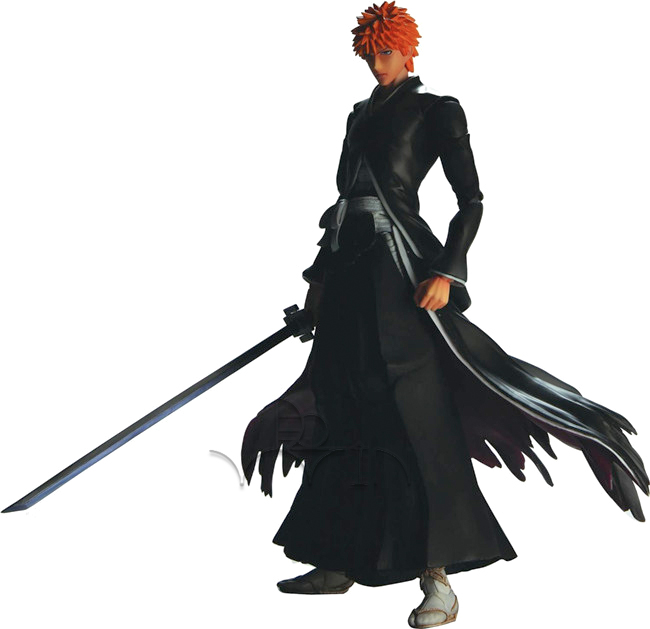 Bleach Square Enix Play Arts Kai Action Figure Ichigo