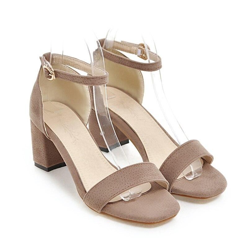 LAPOLAKA 2018 Plus maat 34-43 Enkelband Dames Schoenen Sandalen Mode - Damesschoenen - Foto 4