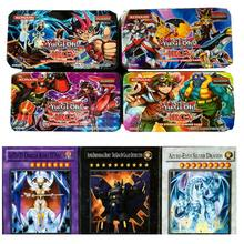 41 pcs/set Yugioh Game Collection Cards English Version Genuine Rare The Strongest Damage Metal Box Packing Kid Gift Toy(China)
