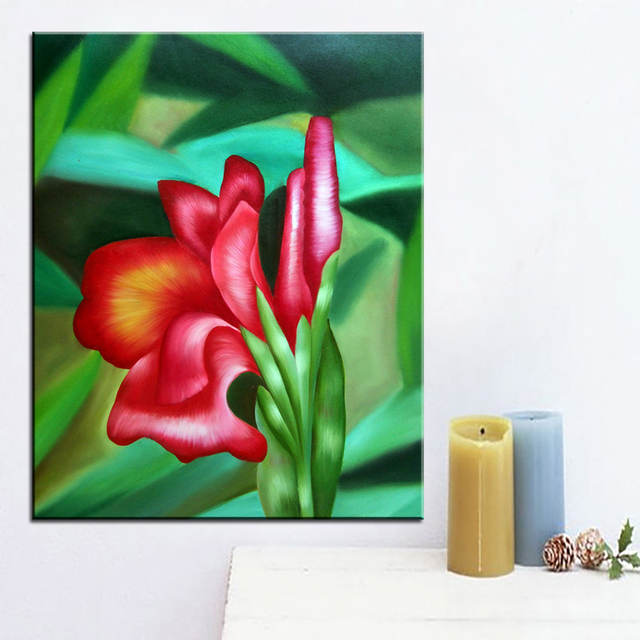 Best print no 244 flower wall painting Amazing oil painting Color ...