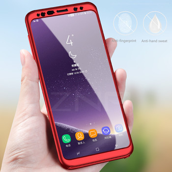 Galaxy S9 Case Thin Fit 360 Exact Slim Full Protection with Tempered Glass 5