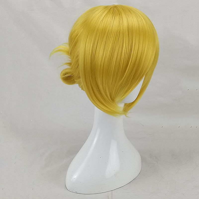 HAIRJOY  Synthetic Hair Tinker Bell Cosplay Wig with Detachable Bun Blonde Brown  Heat Resistant Costume Wigs 63
