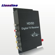 Liandlee Car Digital ATSC Receiver Mobile D-TV HD Turner Antenna Host For Toyota For Nissan For Mazda For Honda For Subaru pour homme dylan blue 100 мл versace pour homme dylan blue 100 мл