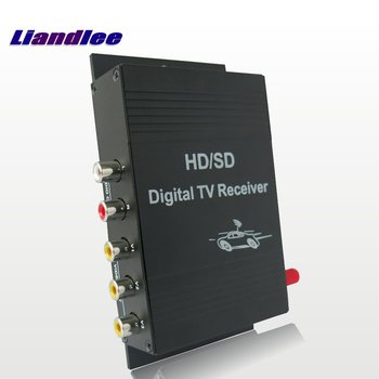 Liandlee Car Digital ATSC Receiver Mobile D-TV HD Turner Antenna Host For Toyota For Nissan For Mazda For Honda For Subaru image