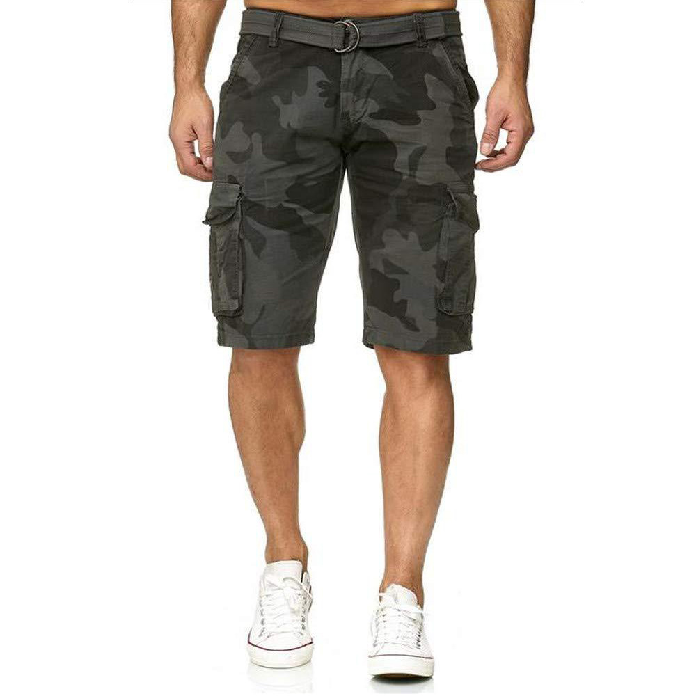 Men's   Shorts   Overalls Camouflage Zipper Middle Waist Pockets Casual Fashion Military   Shorts