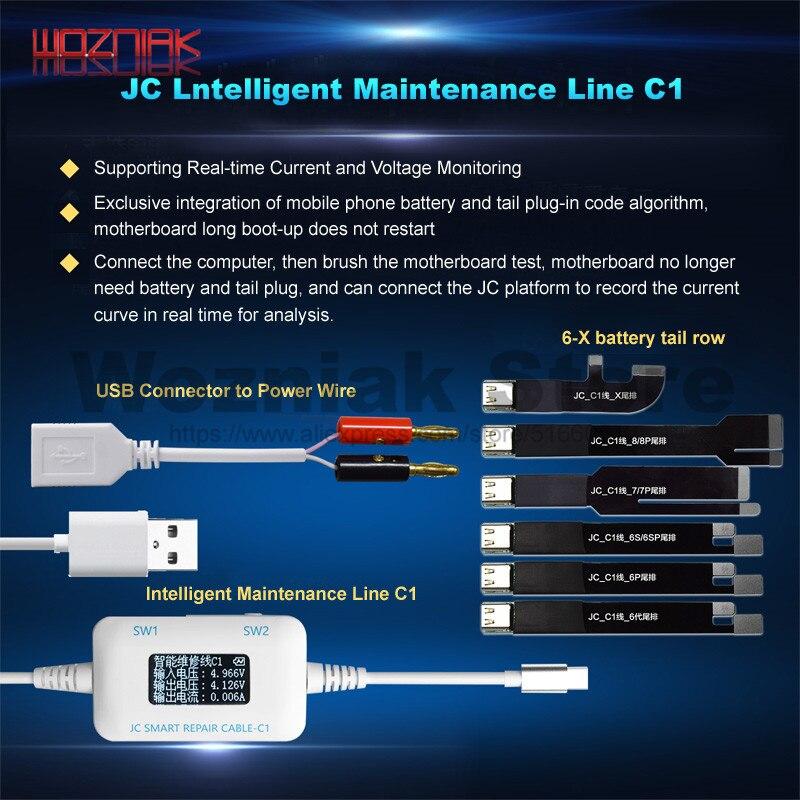 JC C1 умных ремонт коробки для iPhone 6 6S 7 8 плюс материнская плата зарядки/укоренения/вине обнаружить интеллектуальные ремонт