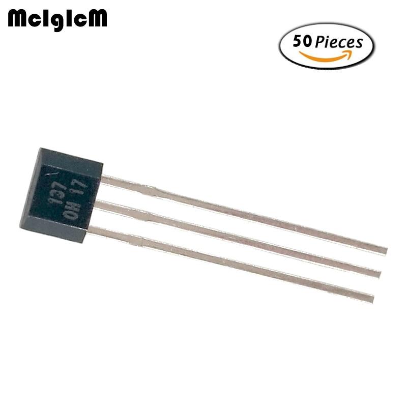 20PCS OH137 Hall Effect Unipolar Sensor IC OH 137 OH137 NEW