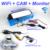 3 in1 Especial Câmera de Visão Traseira Sem Fio + Receptor + espelho Monitor de Back Up Sistema De Estacionamento Para SSangYong Actyon Tradie Korando