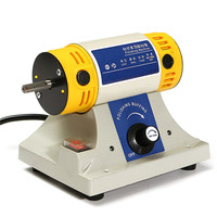 Doersupp 750W Bench Grinder Polishing Machine Kit For Jewelry Dental Bench Lathe Motor