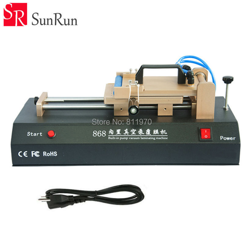 Latest Built-in Vacuum Pump LCD OCA Laminating Machine Universal OCA Laminator For iPhone Samsung LCD Touch Screen Repair 7inch ko no 2 mt oca vacuum laminating machine lcd screen press lamination for sumsung s8 edge for iphone x broken glass repair