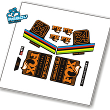 High Quanlity 2016 fox34 Factory Rainbow Fork Stickers 27.5inch 29
