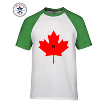 2017 neu Kommen Lustige Kanada Lustiges T-shirt für männer(China)
