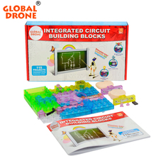 115 projects snap circuits smart electronic kit integrated circuit building blocks experiments educational fun Science kids toys